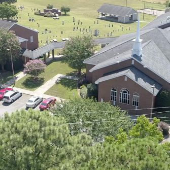 Church Arial Photo