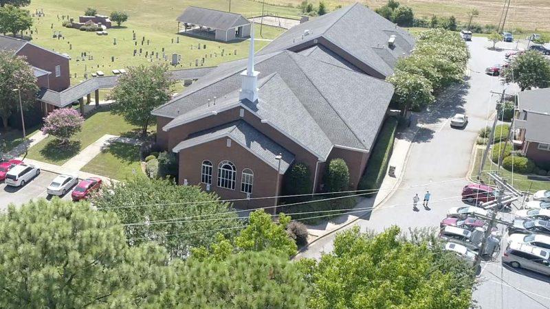 Church Arial Photo